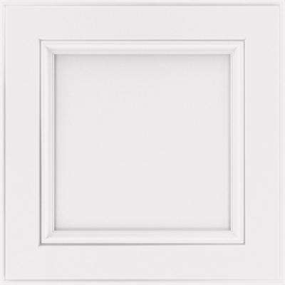 14.5x14.5 in. Bensley Cabinet Door Sample in White
