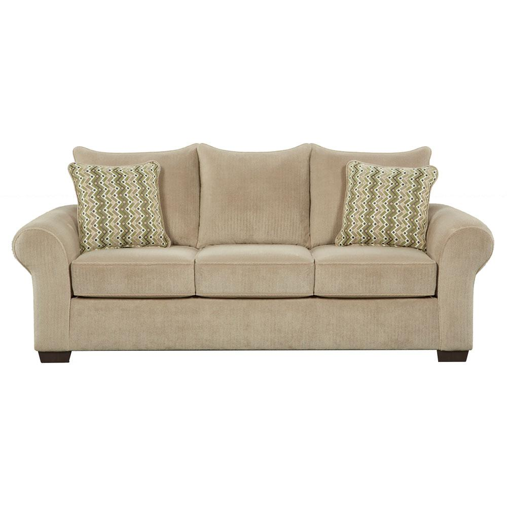 Cambridge Brandywine 2-Piece Tan Living Room Set (Sofa and Loveseat ...