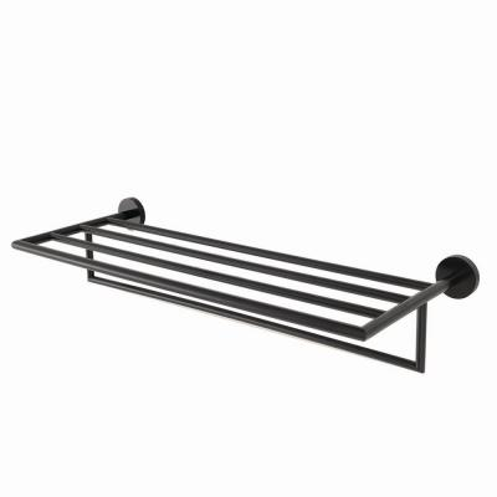 Neo 4-Bar Towel Rack in Matte Black