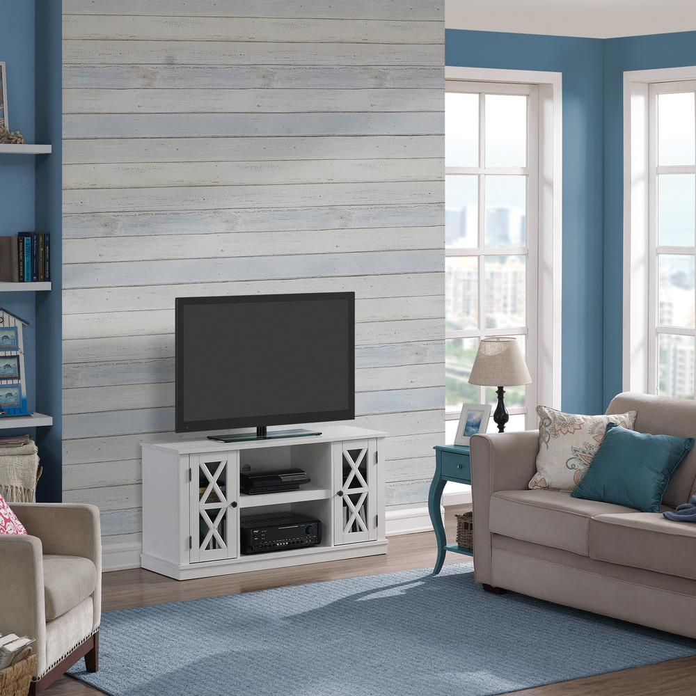 Bayport White Entertainment Center