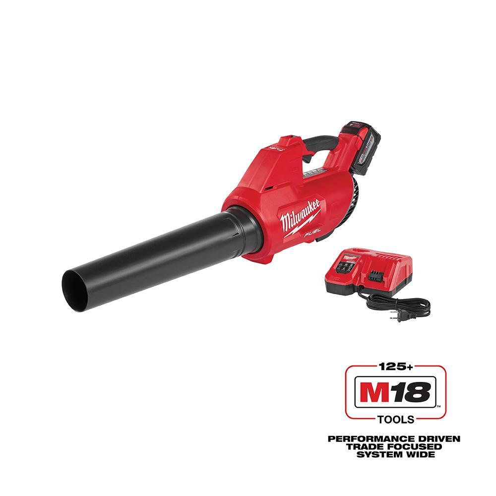 M18 FUEL 100 MPH 450 CFM 18-Volt Lithium-ion Brushless Cordless Handheld Blower Kit