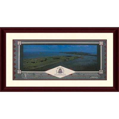 20.5.in x 43.5.in''Portmarnock-Walker Cup 1991'' By PTM Images Framed Printed Wall Art