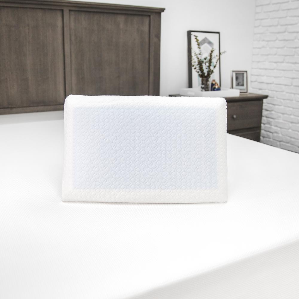 SensorPEDIC Hypoallergenic Cooling Gel Memory Foam Standard Pillow
