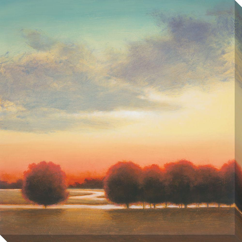 NEP Art 40 in. x 40 in. Afternoon Meadow II Oversized Canvas Gallery Wrap