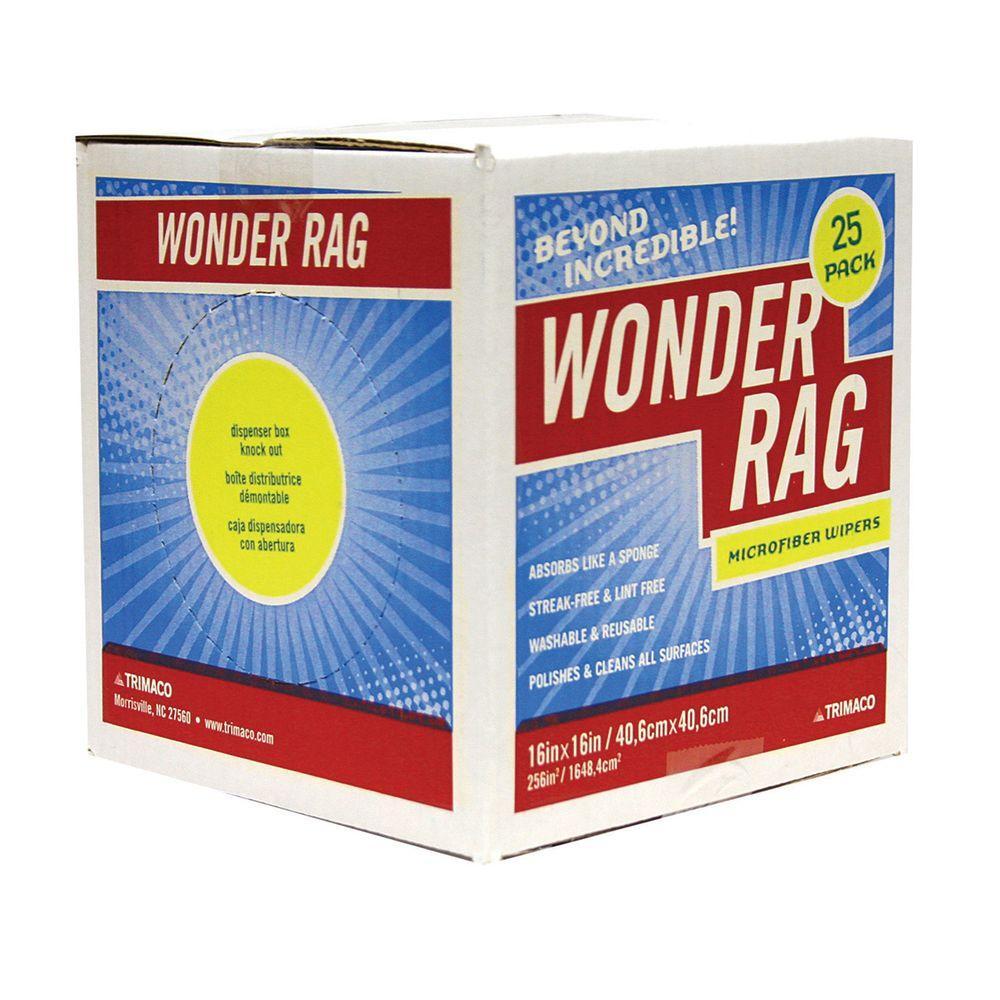 null 16 in. x 16 in. Wonder Rag Dispenser Box (25-Pack)