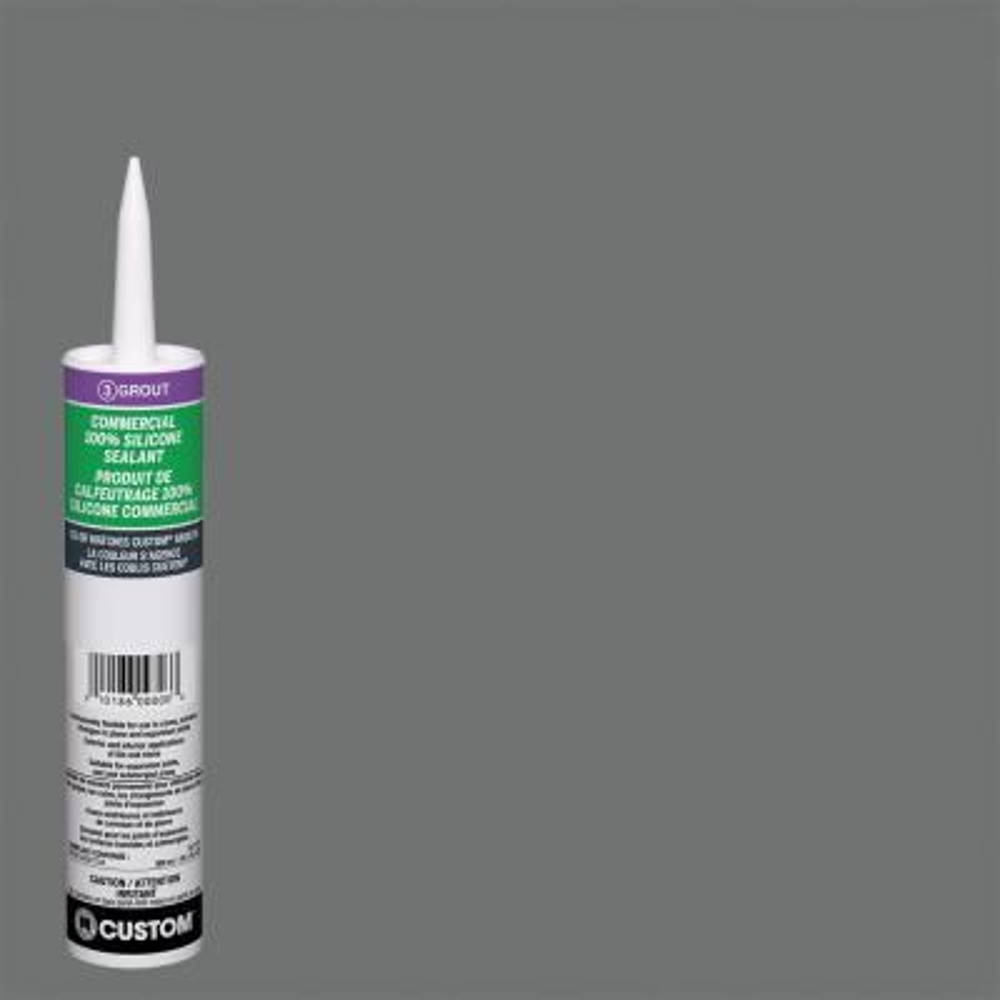 Commercial #644 10.1 oz. Shadow Silicone Caulk