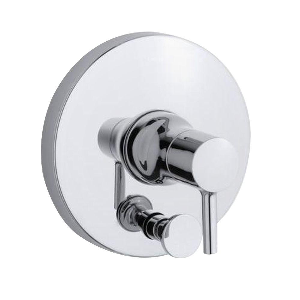 kohler toobi ritetemp 1handle valve trim kit with diverter in polished chrome valve not the home depot