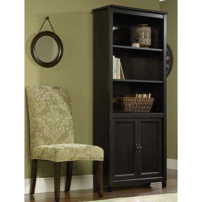 Edge Water Estate Black Storage Open Bookcase