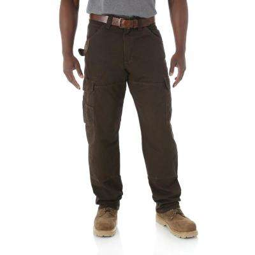 Men's Size 32 in. x 36 in. Dark Brown Ranger Pant