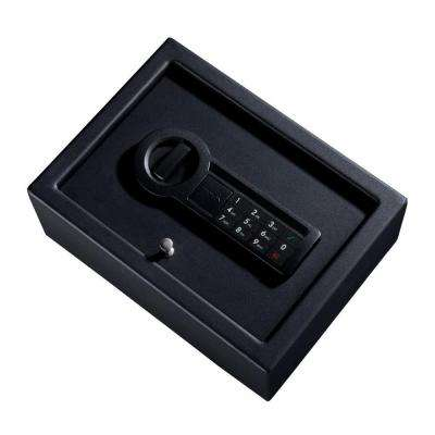 0.182 cu. ft. Steel Personal Safe with Electronic Lock, Black