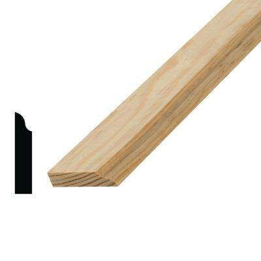 3/8 in. x 1-5/8 in. x 96 in. Solid Pine Door Stop Moulding