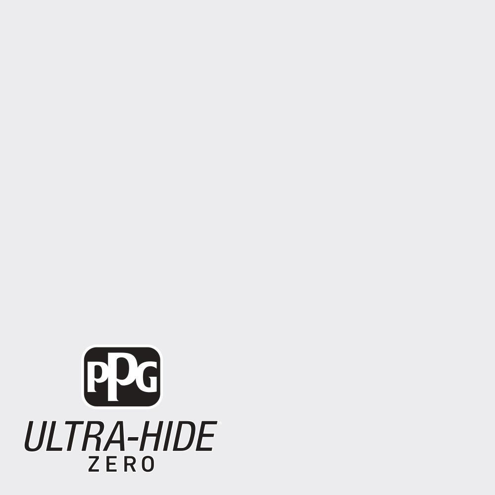 PPG 5 gal. #HDPCN56 Ultra-Hide Zero Drifting Snow Flat Interior Paint