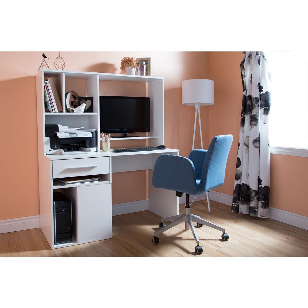 South Shore Annexe Pure White Desk 9053070