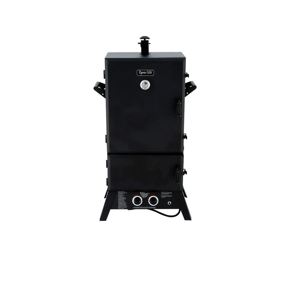 Dyna-Glo 43 in. Wide Body LP Gas Smoker