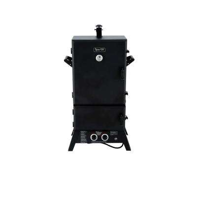 43 in. Wide Body LP Gas Smoker
