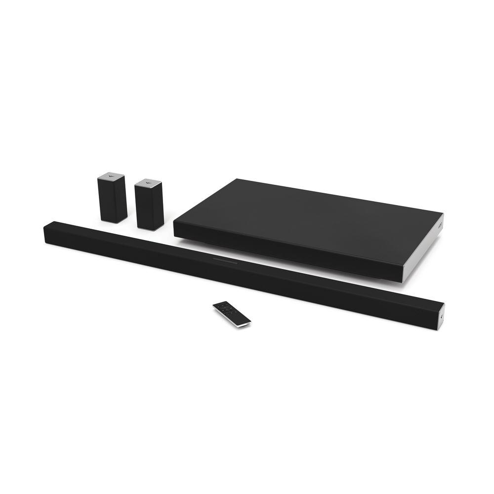 Vizio 45 In Smartcast 5 1 Sound Bar System With Rear Speakers And Wireless Subwoofer