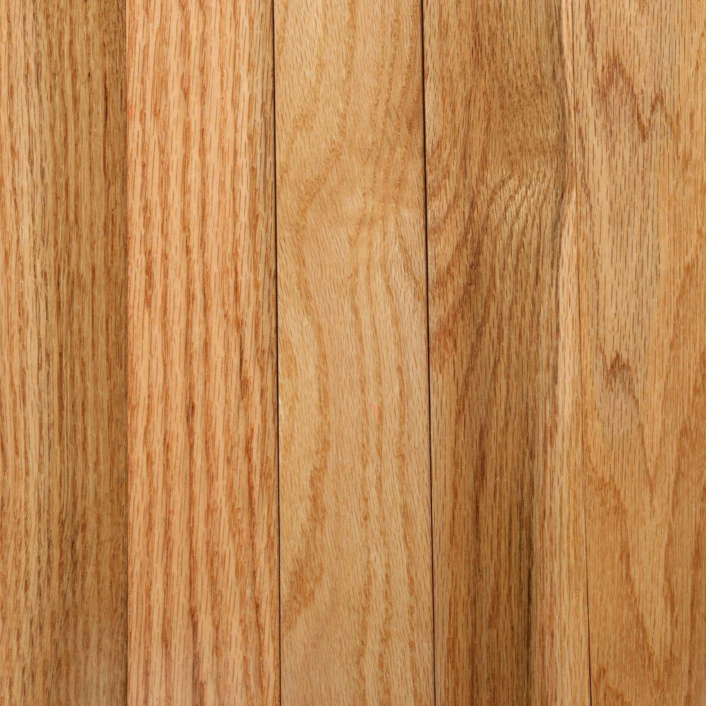 Oak Rustic Natural 3/4 in. Thick x 2-1/4 in. Wide x