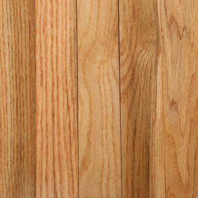 Oak Rustic Natural 3/4 in. Thick x 2-1/4 in. Wide x Random Length Solid Hardwood Flooring (20 sq. ft. / case)