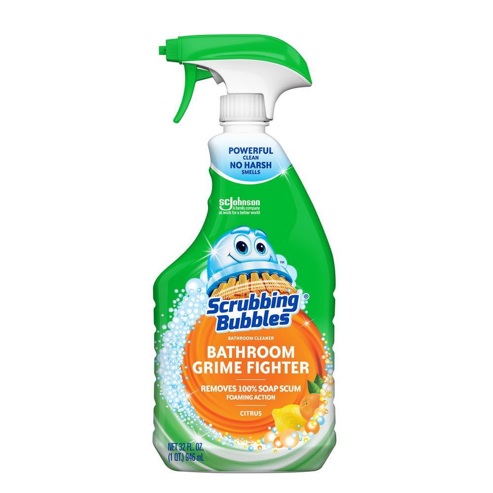 Scrubbing Bubbles 32 Fl Oz Citrus Bathroom Grime Fighter