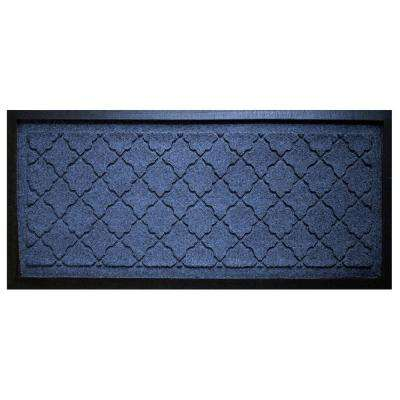 Navy 15 in. x 36 in. Cordova Boot Tray