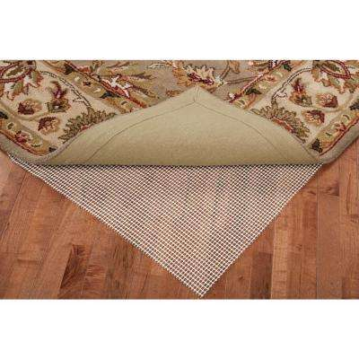 Grip 6 ft. x 9 ft. Oval Rug Pad