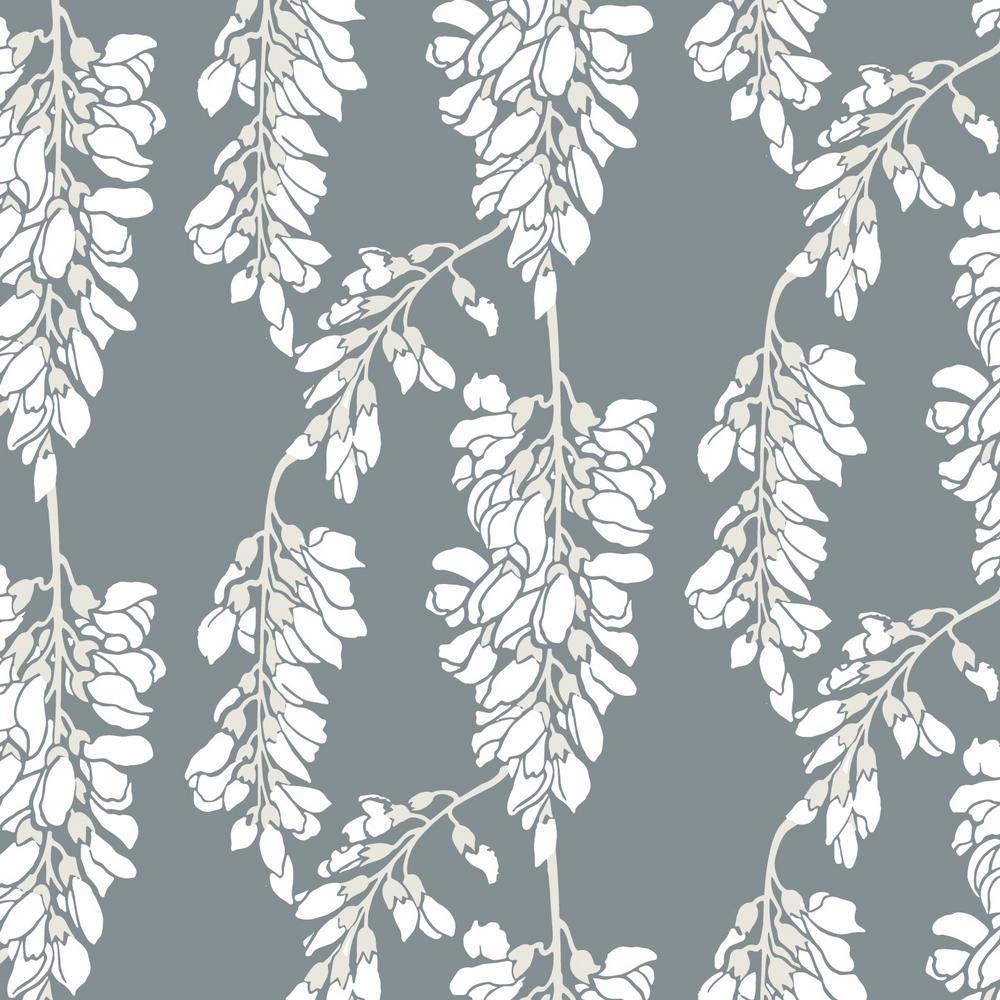 Mitchell Black Nomad Collection Heart Breaker In Stone Soft White Premium Matte Wallpaper