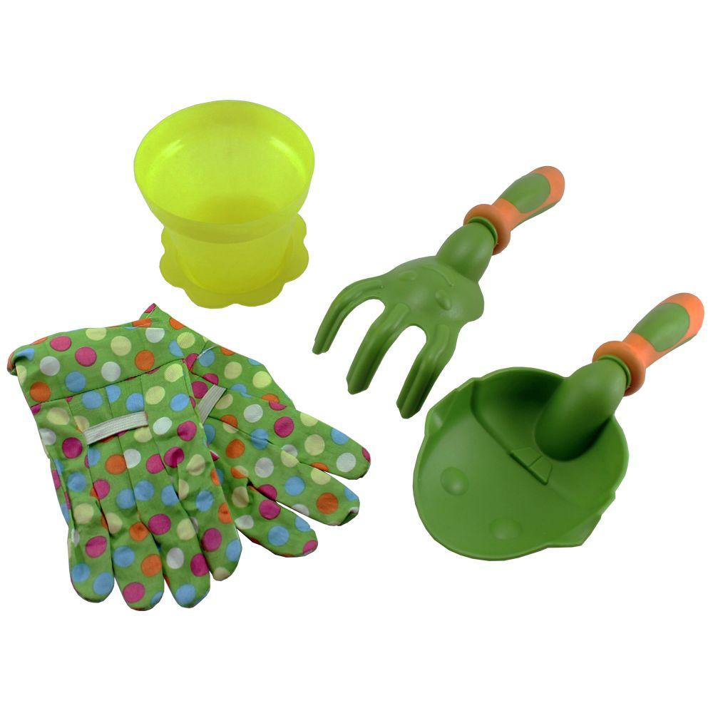 Ray Padula Kids Gardening Bag of Garden ToolsRPKGGS The Home Depot