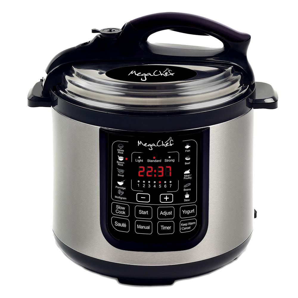 MegaChef 8 Qt Digital Pressure Cooker