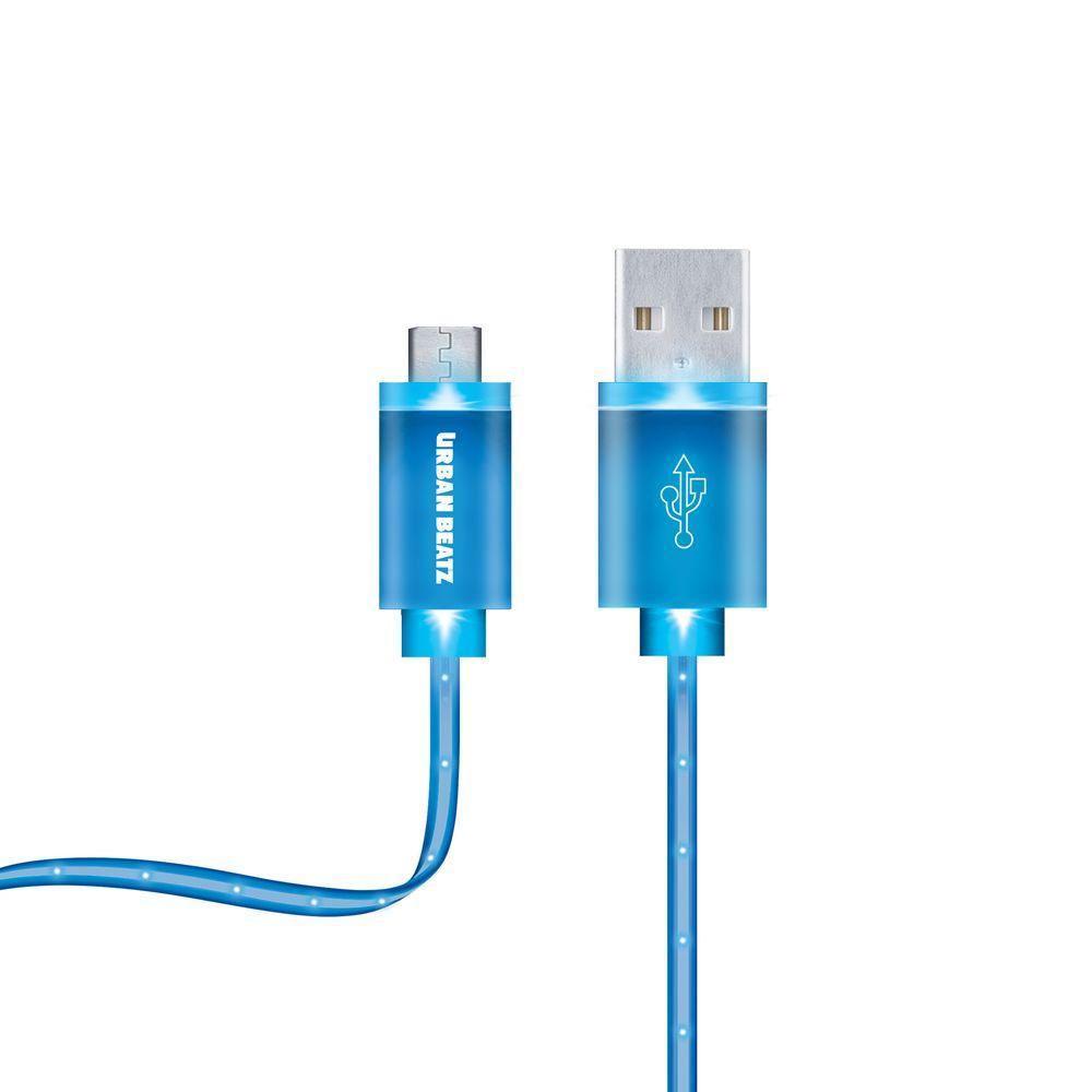Merkury Innovations Optics 3 Ft. Glowing LED Micro USB