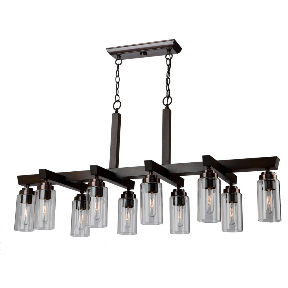 ARTCRAFT 10-Light Brunito Chandelier