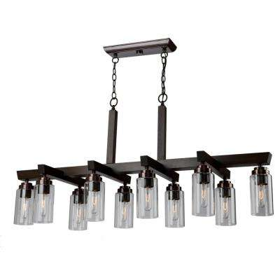10-Light Brunito Chandelier