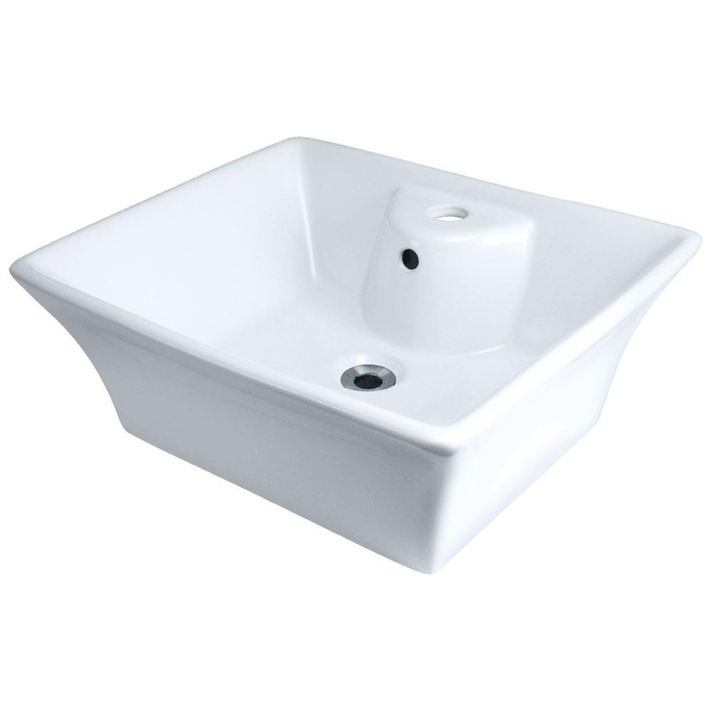 Mr Direct Porcelain Vessel Sink In White V150 W The Home