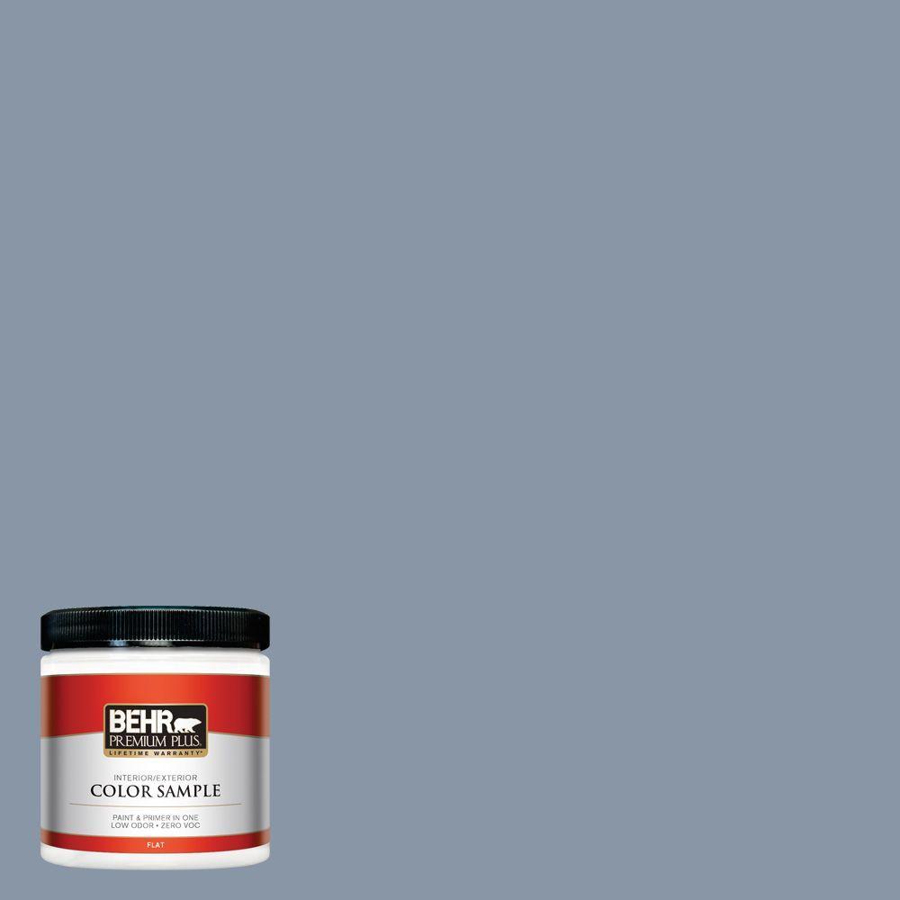 BEHR Premium Plus 8 oz. #ICC-103 Approaching Dusk Interior/Exterior Paint Sample
