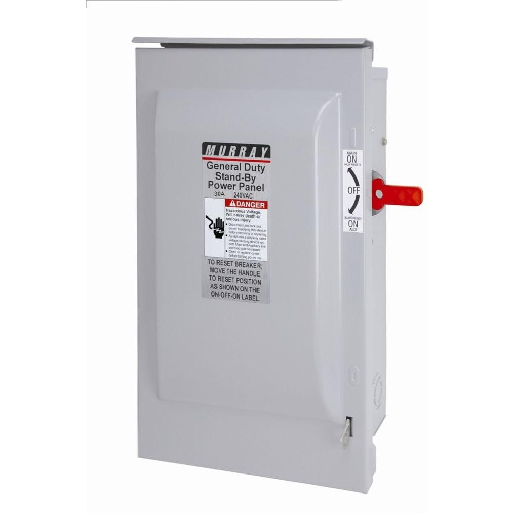 Murray 30 Amp Non-Fused Indoor Safety Switch