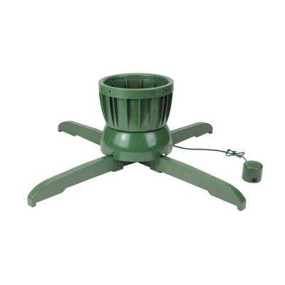 Musical Rotating Christmas Tree Stand for Live Trees