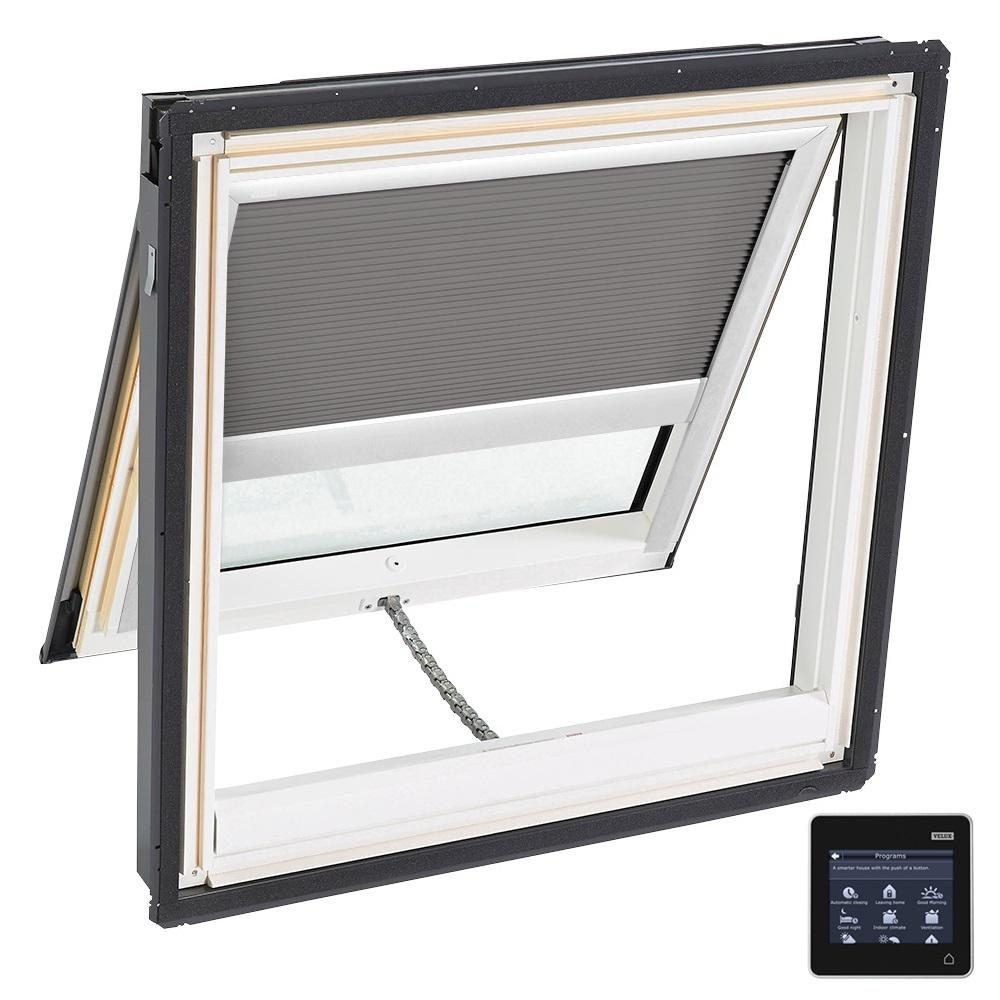 30-1/16 in. x 30 in. Venting Deck-Mount Skylight w/ Laminated Low-E3