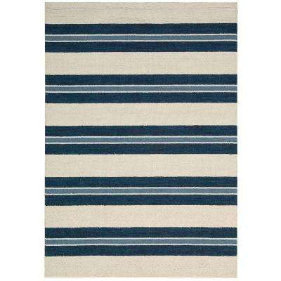 Oxford Awning Stripe 5 ft. 3 in. x 7 ft. 5 in. Area Rug