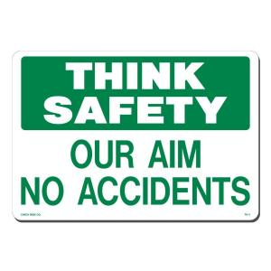 Lynch Sign 14 inch x 10 inch Think Safety Sign Printed on More Durable, Thicker, Longer Lasting Styrene Plastic by Lynch Sign