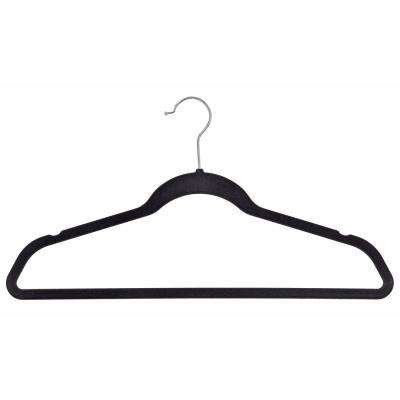 Velvet Black Suit Hanger (50-Pack)