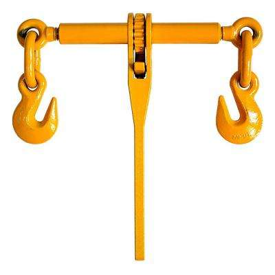 9200 lbs. 3/8 in. - 1/2 in. Ratchet-Type Load Binder with Grab Hooks