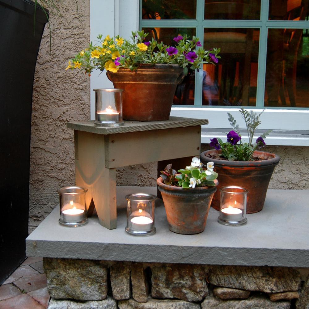 Lumabase Citronella Mega Tealight Candles (12-Count)