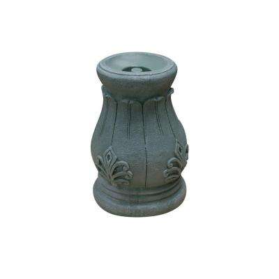 12 in. Roman Column Gazing Globe Stand