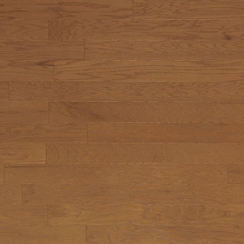 Heritage Mill Brushed Oak Khaki 3/8 in. Thick x 4-3/4 in. Wide x Random Length Engineered Click Hardwood Flooring (33 sq. ft. / case)
