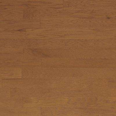 Brushed Oak Khaki 3/4 in. Thick x 4 in. Wide x Random Length Solid Hardwood Flooring (21 sq. ft. / case)