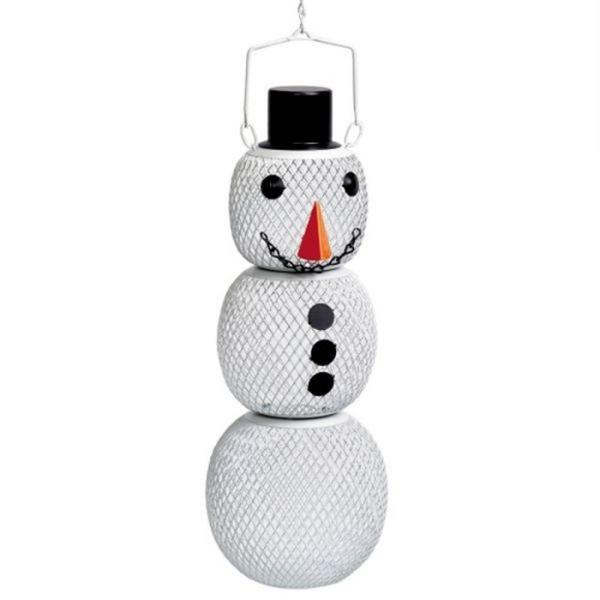 Solar Powered Snowman - 1.5 lb. Capacity