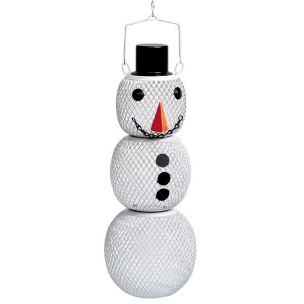 Solar Powered Snowman - 1.5 lb. Capacity