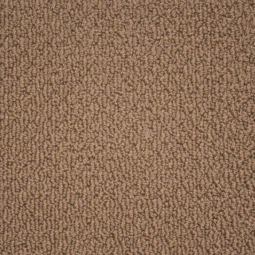 Paradise - Color Caramel Texture 12 ft. Carpet