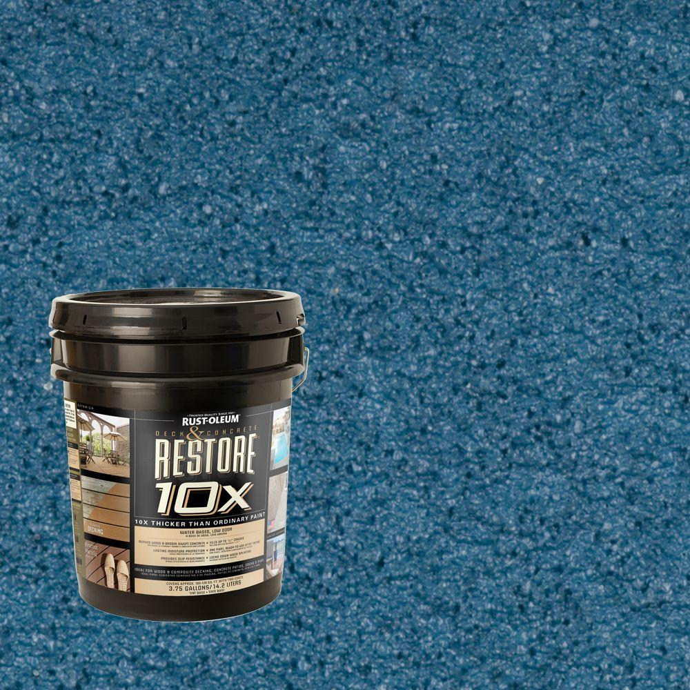 Rust-Oleum Restore 4-gal. Lagoon Deck and Concrete 10X Resurfacer