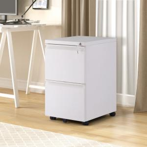 Merax White Le File Cabinet Fully Embled Except