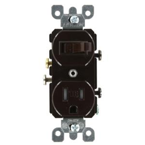 brown leviton outlets receptacles t5225 64_300 leviton decora 15 amp tamper resistant combination switch outlet leviton 5625 wiring diagram at soozxer.org
